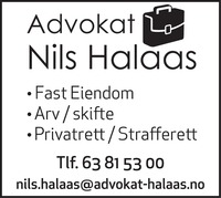 Advokat Nils Halaas