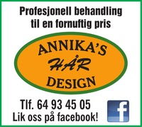 Annika's Hårdesign og Pudder Beautyshop As