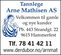 Tannlege Arne Mathisen AS