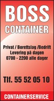Containerservice AS