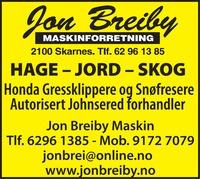 Jon Breiby Maskinforretning