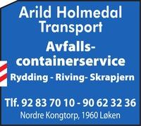 Arild Holmedal Transport