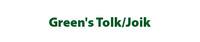 Green's Tolk/Joik