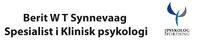 Berit W T Synnevaag spesialist i klinisk psykologi
