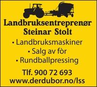 Landbruksentreprenør Steinar Stolt