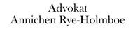 Advokat Annichen Rye-Holmboe