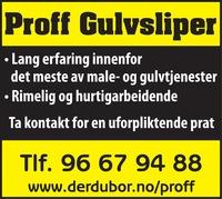 Proff Gulvsliper
