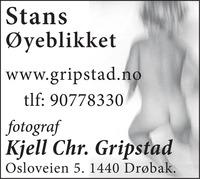 Fotograf Kjell Chr. Gripstad