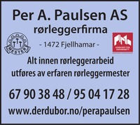 Rørleggerfirma Per A Paulsen AS
