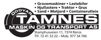 Oddvar Tamnes Maskin & Transport AS