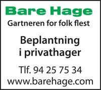 Bare Hage