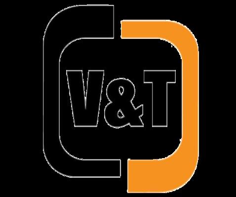 Logoen til V&T Entreprenør AS