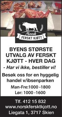 Annonse i Telemarksavisa