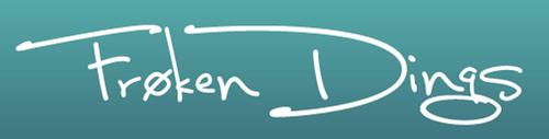 Logoen til Frøken Dings
