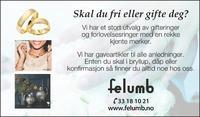 Annonse i Østlandsposten - Alt til bryllupet
