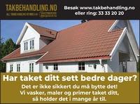 Annonse i Sandefjords Blad - Nye bedrifter