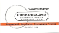 Pedersen Betongsaging AS