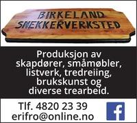 Annonse på trykk i Haugesunds Avis - Bygg og fagfolk