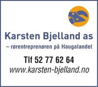 Annonse i Haugesunds Avis - Bygg og fagfolk