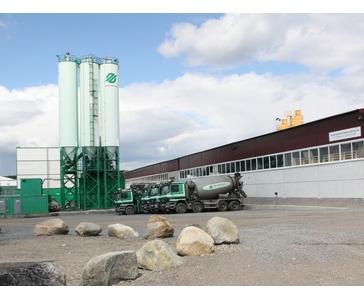 Ferdigbetong og elementfabrikk i Murmansk