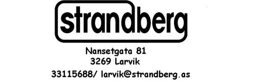 Logoen til Strandberg AS