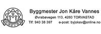 Byggmester Jon Kåre Vannes