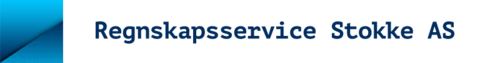 Logoen til Regnskapsservice Stokke AS