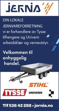 Annonse i Hardanger Folkeblad