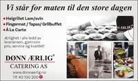 Annonse i Drammens Tidende - Alt til bryllupet