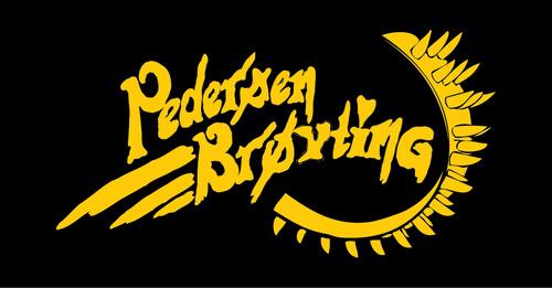Logoen til Pedersen brøyting AS