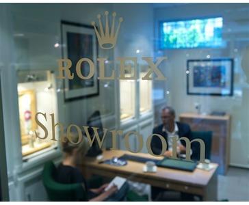 Rolex Showroom