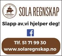 Annonse i Solabladet