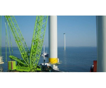 Erfaring, lokal kunnskap og store ressurser sørger for raskt igangsetting av dine løfteoppdrag innen vindkraft til lands eller til vanns.
