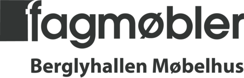 Logoen til Fagmøbler Halden