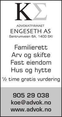 Annonse i Østlandets Blad - Rådgivingsguiden