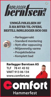 Annonse i Finnmark Dagblad - Bygg og fagfolk