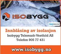 Annonse på trykk i Telemarksavisa - Bygg og fagfolk