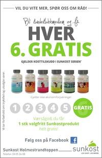 Annonse i Jarlsberg Avis - Helse og velvære
