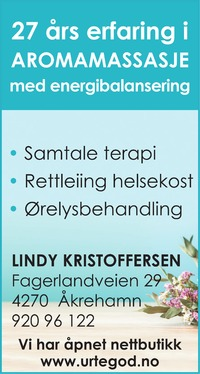Annonse i Haugesunds Avis - Helse og velvære
