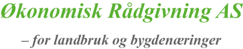 Logoen til Økonomisk rådgivning AS