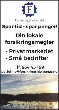 Annonse i Bygdeposten