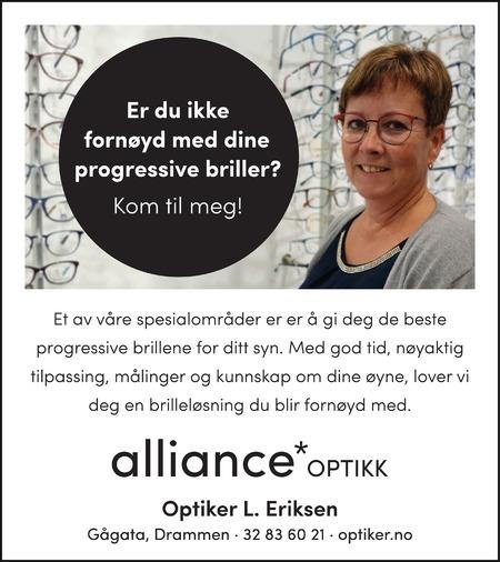 Optiker L Eriksen AS