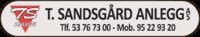 T. Sandsgård Anlegg AS