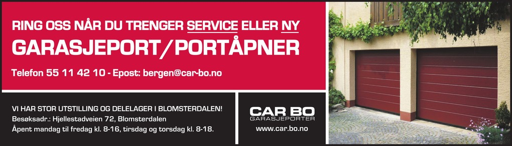 Car-Bo Garasjeporter AS