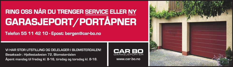 Car-Bo Garasjeporter AS