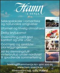 Annonse i Nordlys - Alt til bryllupet