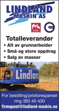 Annonse i Lyngdals Avis