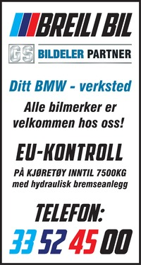 Annonse i Sandefjords Blad