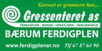 Bærum Ferdigplen Gressenteret AS