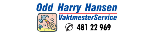 Logoen til Odd Harry Hansen Vaktmesterservice AS